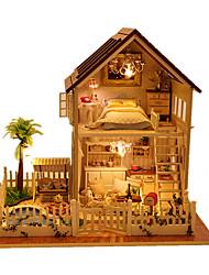 economico -Casa per bambole Giocattoli Casa Legno Pezzi Unisex Regalo
