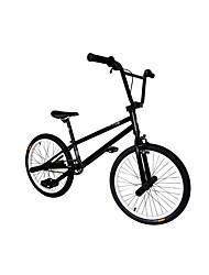 BMX Bike Ciclismo Others 20 pollici Semplici Anti-smorzamento Telaio in acciaio Anti-smorzamento Tubo obliquo Monoscocca Anti-scivolo PVC