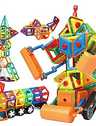 cheap -Magnetic Blocks / Building Blocks 168pcs Robot / Construction Vehicle Magnetic / Education / DIY Girls' Gift