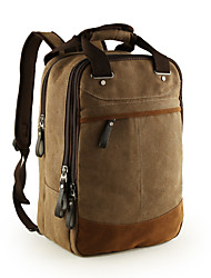 For MacBook Pro Air 11 13  Inch Backpacks Canvas Solid Color Laptop Universal Bag for Traveling and Leisure 14