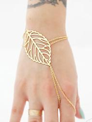 preiswerte -Damen Ketten- & Glieder-Armbänder Ring-Armbänder - Böhmische Handgemacht Kreisform Gold Armbänder Für Besondere Anlässe Jahrestag