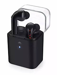 7 Bluetooth 4.1 Headset TWS Wireless Stereo Call Binaural Motion Business Mini Headset Battery Slot