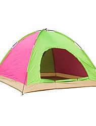 3-4 Pessoas Tenda Único Barraca de acampamento Um Quarto Tenda Dobrada para Campismo Viajar CM
