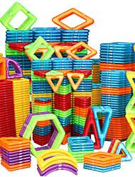 Недорогие -Магнитный конструктор Магнитные плитки Конструкторы 128 pcs Автомобиль Робот Колесо обозрения совместимый Legoing Подарок Магнитный 3D Мальчики Девочки Игрушки Подарок / Своими руками