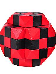 abordables -Puzzles en bois IQ Casse-Tête Cadenas Sphère Test de QI Bois Unisexe Cadeau
