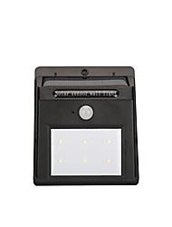 Недорогие -GMY® 0.5 W LED прожекторы Водонепроницаемый / Датчик Холодный белый 5 V Холл / лестничная площадка / Гараж / автостоянка / Уличное освещение 6 Светодиодные бусины