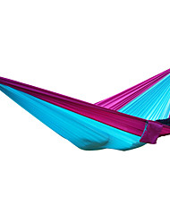 cheap -AOTU Camping Hammock Outdoor Portable Nylon for Indoor / Outdoor - 2 person Yellow / Gray / Blue+Gray / Royal Blue / Light Blue