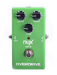 NUX OD-3 Overdrive Vintage Booster Effect Pedal True Bypass GOOD Tube Sound