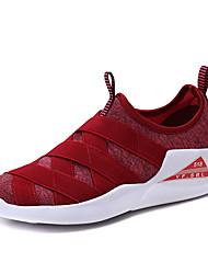 Недорогие --Для женщин-Для прогулок Повседневный Для занятий спортом-Тюль-На плоской подошве-Удобная обувь Светодиодные подошвы-Кеды