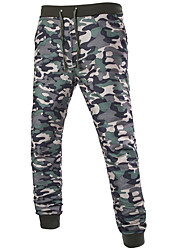 cheap -Men's Casual Chic & Modern Trendy Harem Slim Sweatpants Chinos Pants - Camouflage