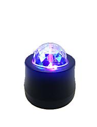 Недорогие -Светодиодные театральные лампы Волшебный светодиодный мяч Дисконтный клуб Party DJ Show Lumiere LED Crystal Light Лазерный проектор 6W - -