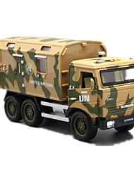 Недорогие -Танк Ракетный грузовик Игрушечные грузовики и строительная техника Игрушечные машинки Машинки с инерционным механизмом Металл