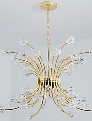 Modern/Contemporary Chandelier For Living Room Bedroom Dining Room Study Room/Office Kids Room AC 100-240V Bulb Included