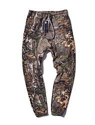 abordables -Pantalones de caza con camuflaje Resistente a los UV camuflaje Pantalones / Sobrepantalón para Caza