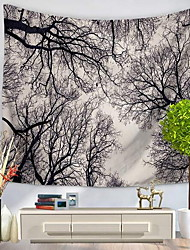 cheap -Landscape Wall Decor 100% Polyester Patterned Wall Art, Wall Tapestries Decoration