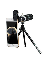 cheap -Mobile telescope 18x with 37MM mobile phone clip black