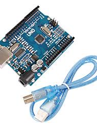 Versión mejorada uno r3 placa atmega328p compatible para arduino