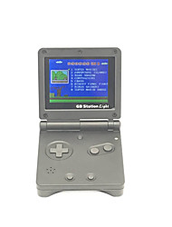 abordables -Gb station light boy sp pvp hand hand player player main 142 jeux intégrés console vidéo portable 3 '' lcd retro games