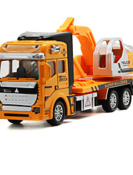 cheap -Toy Cars Die-Cast Vehicles Toys Truck Construction Vehicle Excavator Toys Truck Excavating Machinery Toys Metal Alloy Pieces Unisex Gift