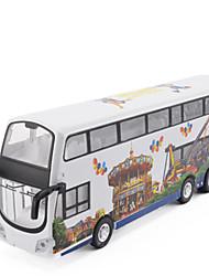 Машинки с инерционным механизмом Игрушечные машинки Грузовик Игрушки Автобус Металлический сплав Металл Куски Универсальные Подарок