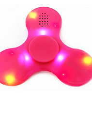 cheap -Fingertip Gyroscope Bluetooth Speaker LED Flash Light Hand Spinner