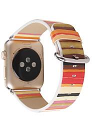 Недорогие -Часовая группа для серии часов для яблока1 2 браслет для замены пряжки из натуральной кожи