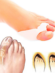 1Pair Feet Care Toe Separator Big Toe Bone Bunion Shield Hallux Valgus Splint Spreader Protector Corrector