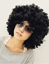 cheap -Synthetic Wig Straight Yaki Black Women's Capless Natural Wigs Short Synthetic Hair