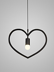 cheap -Heart-shaped/ Iron and art chandelier/Modern/Contemporary Vintage Painting Feature for Mini Style Designers MetalBedroom Dining Room