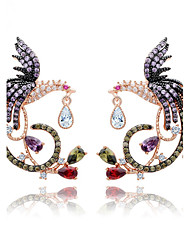 Women's Earrings Jewelry Unique Design Euramerican Costume Jewelry Fashion Zircon Alloy Jewelry Jewelry For Wedding Birthday