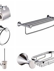 Недорогие -1 комплект Высокое качество Модерн Металл Набор аксессуаров для ванной / Ванная комната На стену