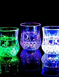RGB LED Magic Inductive Color Changing Cup for KTV Party Decoration Pineapple Mug Whisky Beer Cup