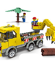 cheap -JIE STAR Building Blocks Car / Truck / Construction Vehicle Eco-friendly Unisex Gift