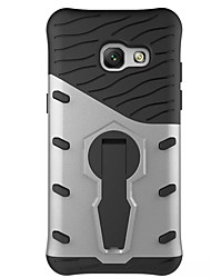 cheap -Case For Samsung Galaxy A5(2017) A3(2017) Shockproof with Stand 360° Rotation Back Cover Armor Hard PC for A3(2017) A5(2017) A7(2017)