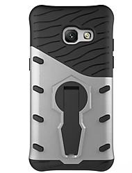 preiswerte -Hülle Für Samsung Galaxy A5(2017) A3(2017) Stoßresistent mit Halterung 360° Drehbar Rückseite Rüstung Hart PC für A3 (2017) A5 (2017) A7
