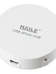 Haile hu-01 weiß mini-round 4port usb 2.0 Nabe mit 80cm Kabel