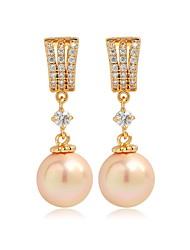 Femme Bijoux Original Mode euroaméricains Perle Imitation de perle Perle Rose Alliage Bijoux Bijoux Pour Mariage Anniversaire Soirée
