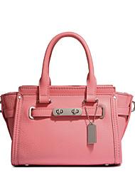 Women Bags All Seasons PU Shoulder Bag for Casual Pale Pink Aquamarine Yellow Light Purple Sky Blue