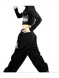 Jazz Women's Spandex 2 Bottoms Women's Polyester Natural Pants
