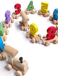 baratos -Carros de Brinquedo Brinquedo Educativo Trem Cauda De madeira Crianças Para Meninos Para Meninas Brinquedos Dom
