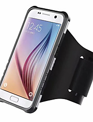 cheap -Case For Samsung Galaxy S8 Plus S8 Shockproof Armband Armband Solid Color Hard PC for S8 Plus S8 S7 edge S7