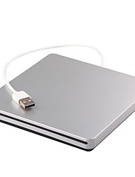 Portable usb 3.0 externo dvd rw drive gravador gravador gravador para macbook laptop notebook