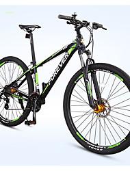 Mountain Bike Ciclismo 27 Velocità 29 Inch Doppio disco freno Forcella Ammortizzata Telaio in lega d'alluminio Corpo telaio rinforzato