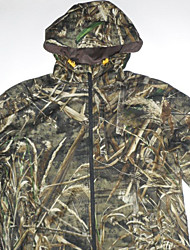 cheap -Camouflage Hunting Jacket Men's Waterproof Top Long Sleeves for Hunting