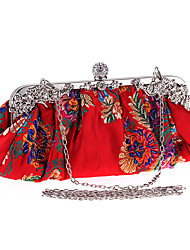 cheap -Women Bags Polyester Evening Bag Pearl Detailing for Wedding Event/Party Formal Party & Evening Club All Seasons Black Red