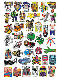 cheap -Stickers & Decals Skateboard Sticker 20.0*18.0*0.5 cm Trainer for Skateboards Plastic 50 pack