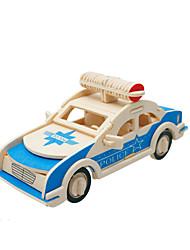 Недорогие -3D пазлы Деревянные игрушки Наборы для моделирования Автомобиль деревянный Детские Подарок