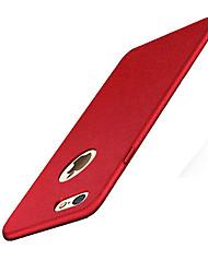 Per iPhone 8 iPhone 8 Plus Custodie cover Effetto ghiaccio Custodia posteriore Custodia Tinta unica Resistente PC per Apple iPhone 8 Plus