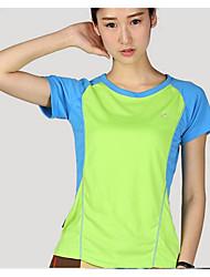 abordables -Tee-shirt de Randonnée Hauts/Top pour Course Eté S M L XL XXL