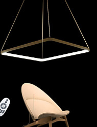 cheap -Pendant Light Ambient Light - LED, 110-120V / 220-240V, Warm White / White / Dimmable With Remote Control, LED Light Source Included